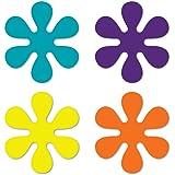 Set of 4 70's Flower Pack