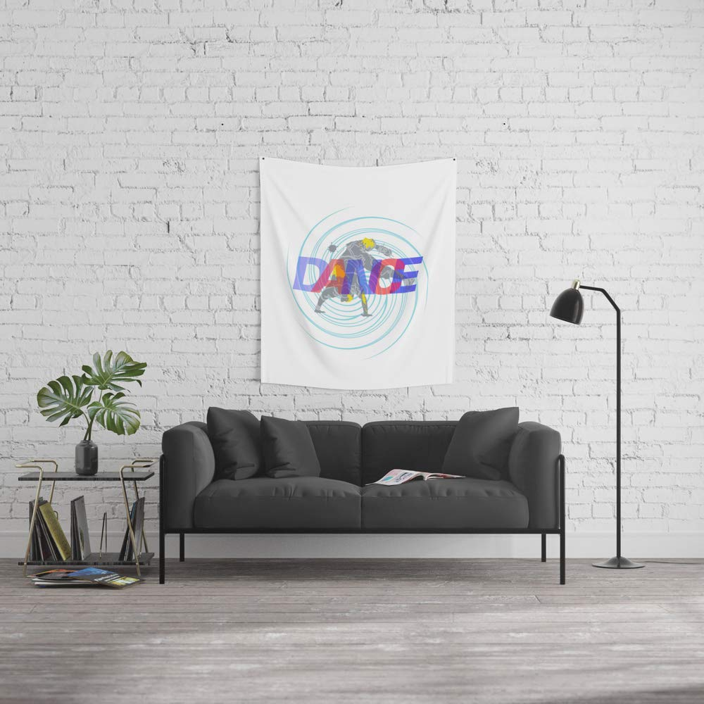 Society6 Wall Tapestry, Size Small: 51'' x 60'', Dance I by Birthday-by-frankenberg