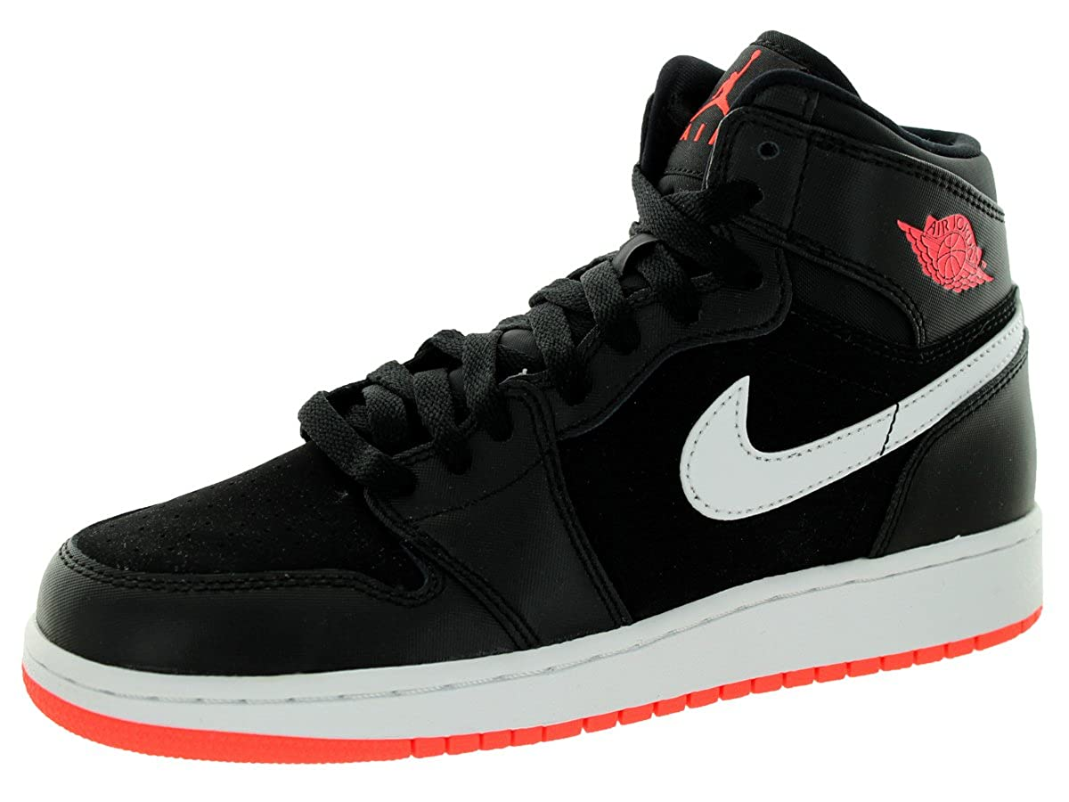 the latest d70cb 2b3ba Amazon.com | NIKE AIR Jordan 1 Retro HIGH GG Black/Hotlava ...