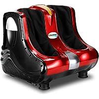 Foot Massager Ankle Calf Leg Shiatsu Kneading Rolling Vibration Machine 4 Motors