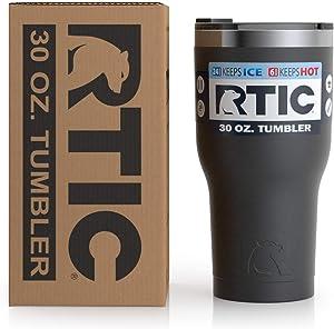 RTIC 1335 Tumbler, 30oz (New), Black