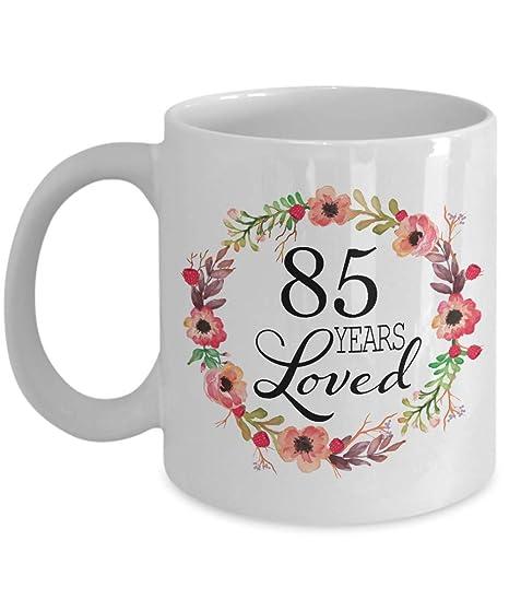 Amazon.com: Regalos de 85º cumpleaños para mujer – regalo ...