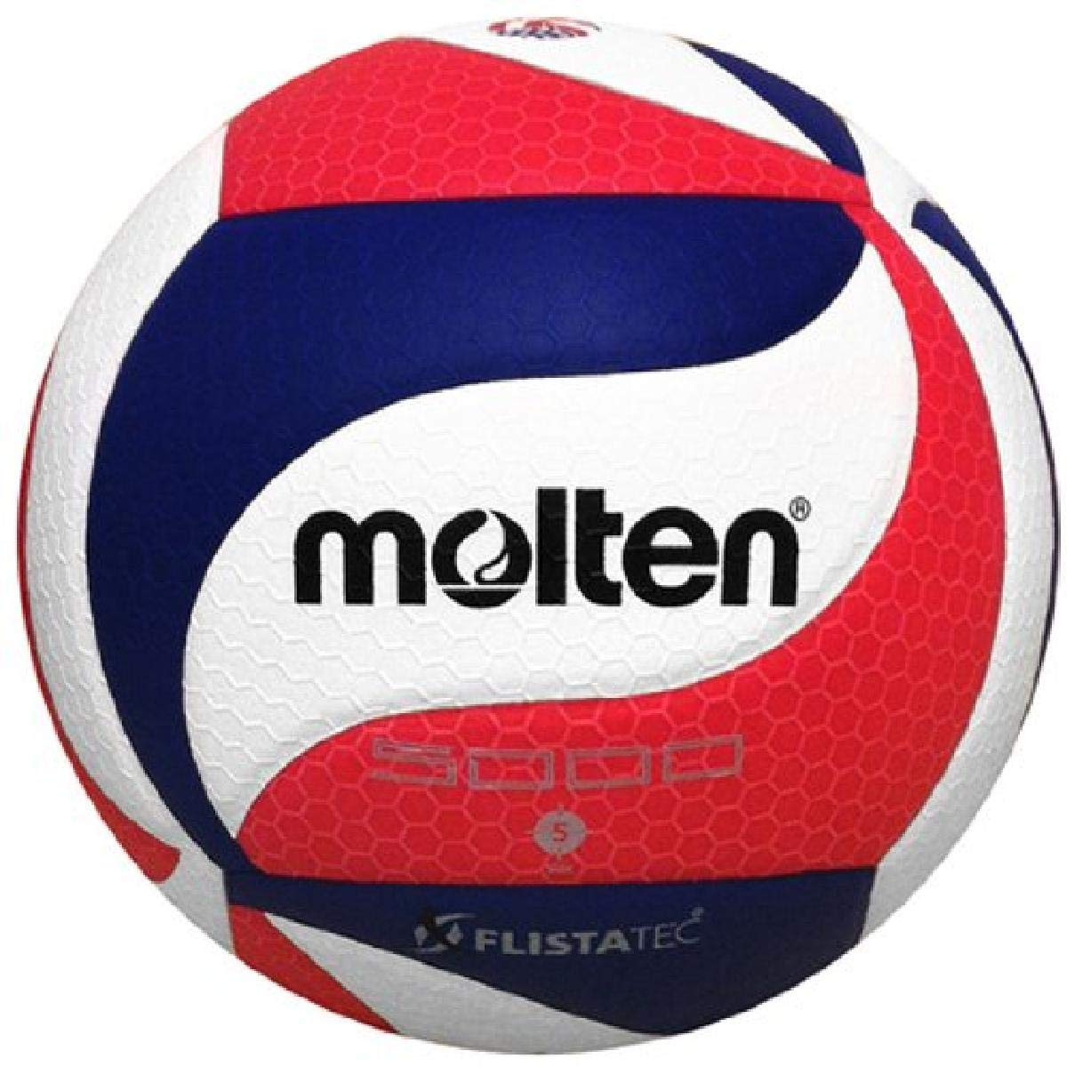 Buy Molten V5m5000 Men S Ncaa Flistatech Volleyball Red Green White Official Online At Low Prices In India Amazon In
