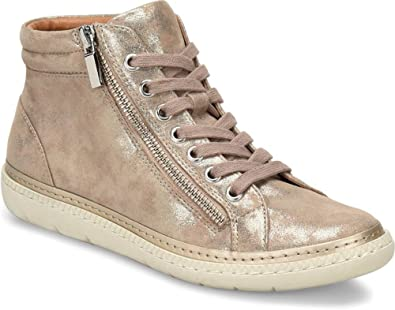 Sofft Annaleigh Leather Side Zip High Top Sneakers keu9pTvxm