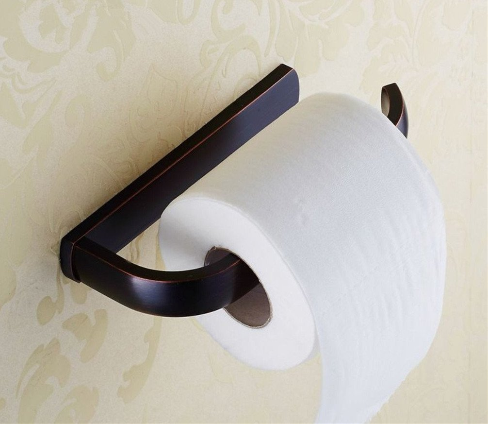 Elloallo oil rubbed bronze toilet paper holder bathroom - Rubbed oil bronze bathroom accessories ...