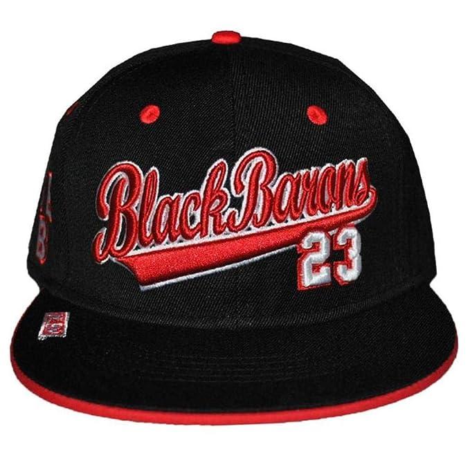 05f2b3149c6 Image Unavailable. Image not available for. Color  NLBM Birmingham Black  Barons Men s Snapback Cap Black