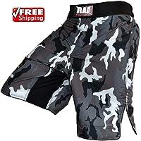 Pantalones cortos para artes marciales, estampado de camuflaje