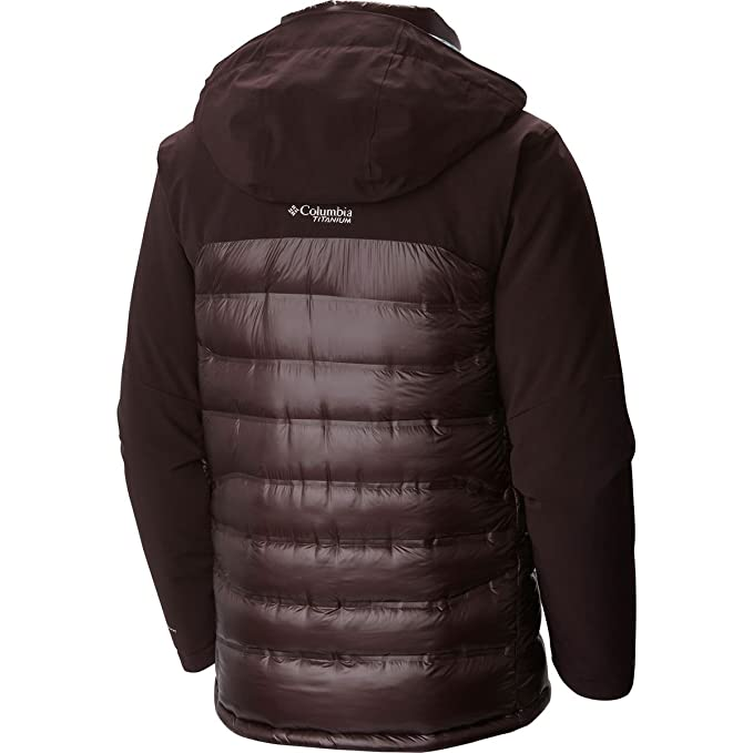 Amazon.com  Columbia Heatzone 1000 TurboDown Hooded Jacket - Men s  Sports    Outdoors 022708ac4e