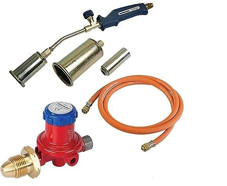 Propane Bottle Adjustable Regulator for Gas Torches /& Hoses