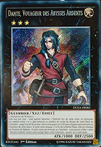Yu Gi Oh Oh Oh carte YU-GI-OH DUEA-FR085 Dante. Voyageur Des Abysses Ardents NEUF FR 35460e