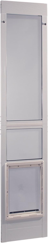 "Ideal Pet Products Aluminum Modular Pet Patio Door, adjustable height 77-5/8"" - 80 3/8"""