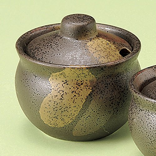 - Condiment Jars condiment pots spice jars large size [ 8 x 7.8cm 160㏄ ] 190g Japanese dish plates traditional oriental asian