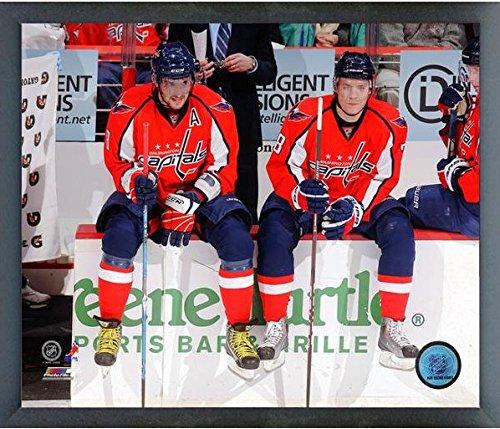 Alex Ovechkin Alexander Semin Washington Capitals NHL Action Photo (Size: 12