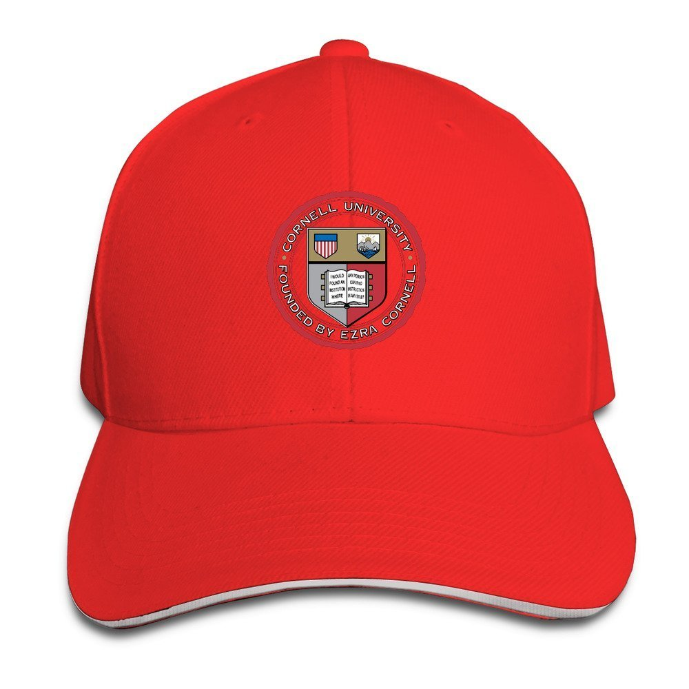 Amazon.com  TopSeller Unisex Cornell University Logo Peaked Baseball ... d7b2ba43423