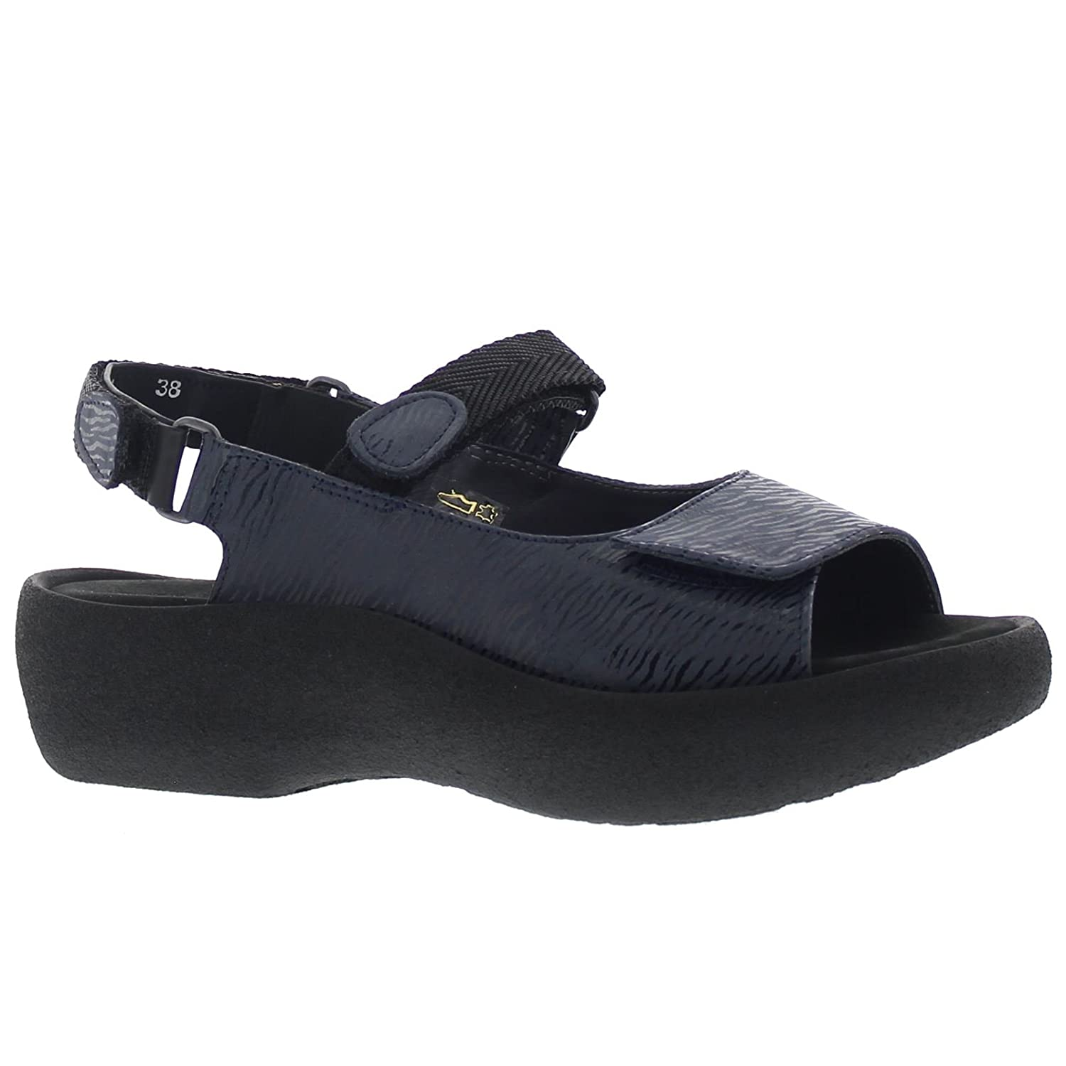 Wolky Comfort Jewel B01LWYW6ZD 38 M EU / 6.5-7 B(M) US|Denim Blue