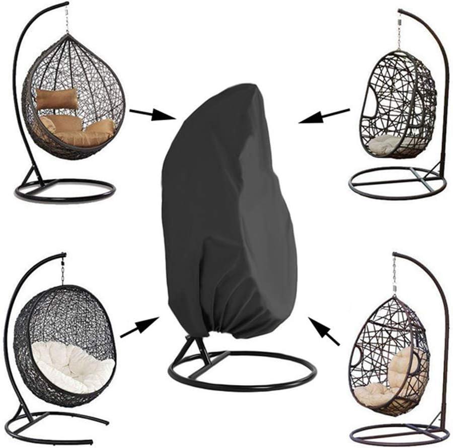 WYBFBYQ Altalena Copertura Antipolvere Protezione Solare Copertura della Sedia a Dondolo Sedia Singolo Swinging Egg per Outdoor Giardino Patio,115x190cm