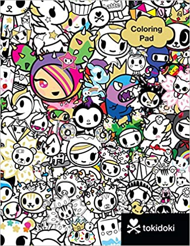 Buy Tokidoki Coloring Pad Book Online At Low Prices In India