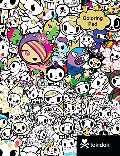 tokidoki Coloring Pad
