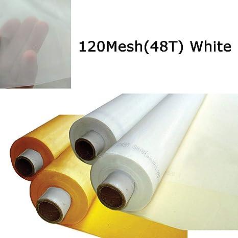 Malla de seda para serigrafía de 3 yardas, 1,27 m, malla de ...