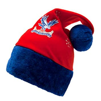 51c272a308e Crystal Palace F.C. Santa Hat Official Merchandise  Amazon.co.uk ...