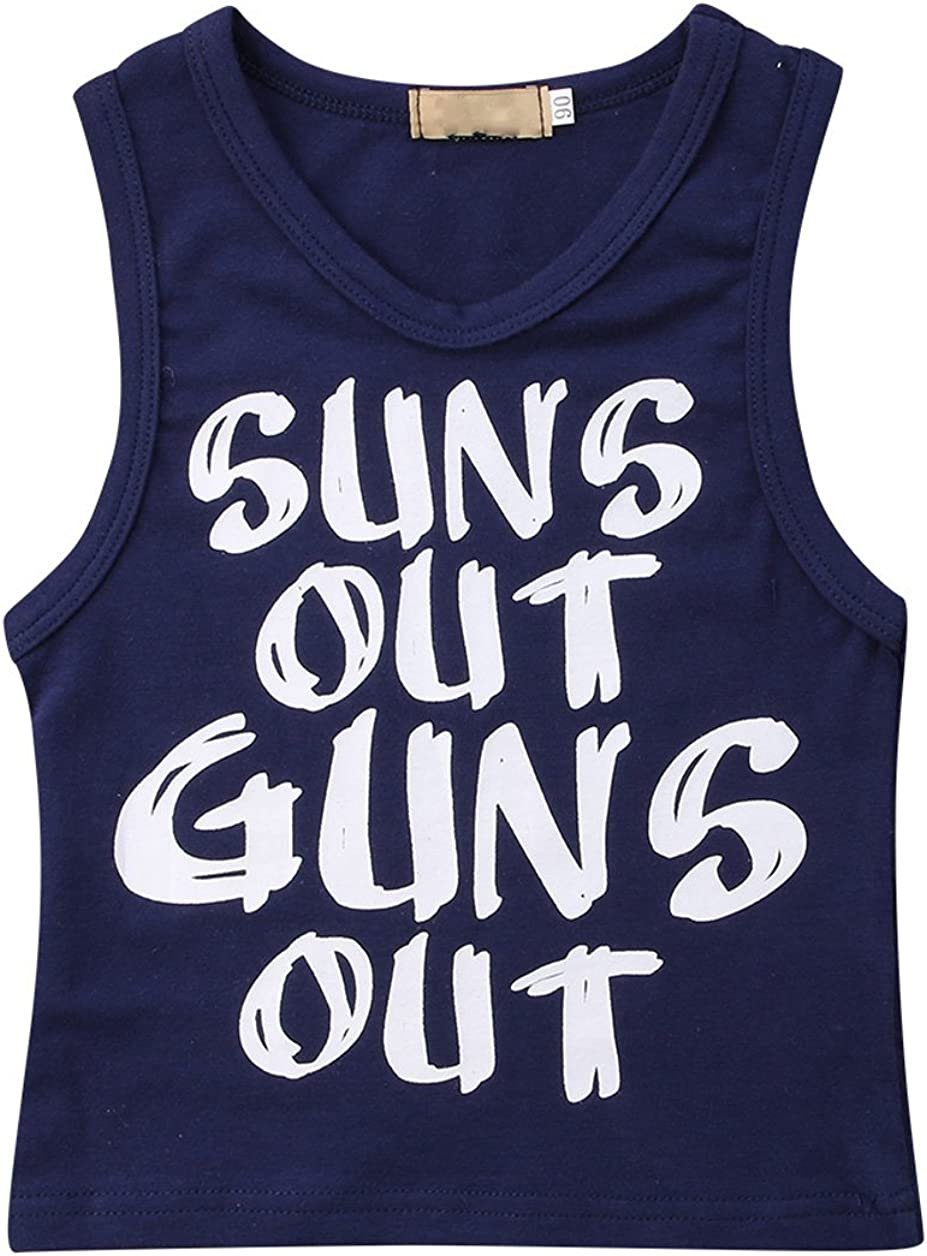guns out Tank top summer shirt funny shirt  funny muscle shirt  funny gym shirt  funny kids shirt  funny tank topfunny tsh Suns out