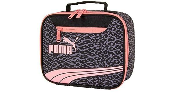 2749280f545 Puma Form Stripe Cheetah Print Lunch Box - Grey Pink Black: Amazon.es:  Deportes y aire libre