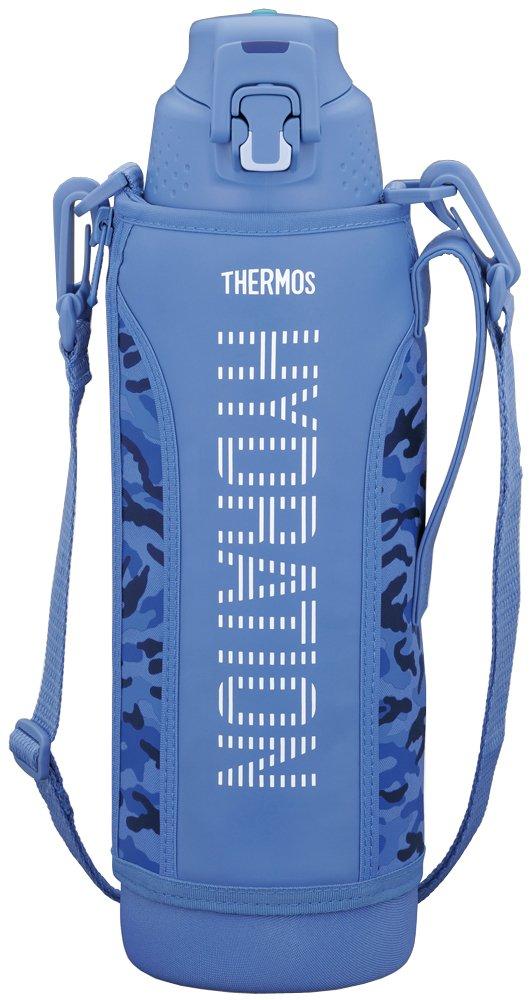 Thermos Vacuum Insulated Sports Bottle 1.5L Ash Blau Ffz-1500F Asb