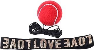 Kalttoy Red Boxing Ball Reflex Vitesse Formation Lutte Bandeau Muay Thai Équipement De Combat