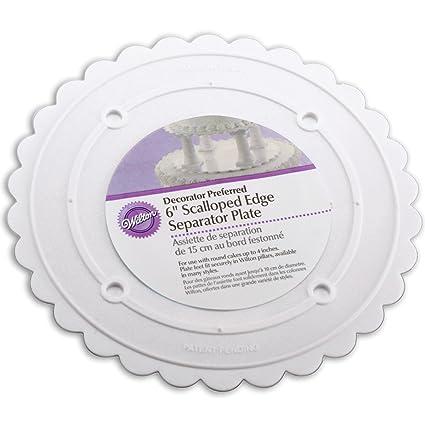 Wilton Decorator Preferred Separator Plate 6u0026quot;  sc 1 st  Amazon.com & Amazon.com: Wilton Decorator Preferred Separator Plate 6 ...