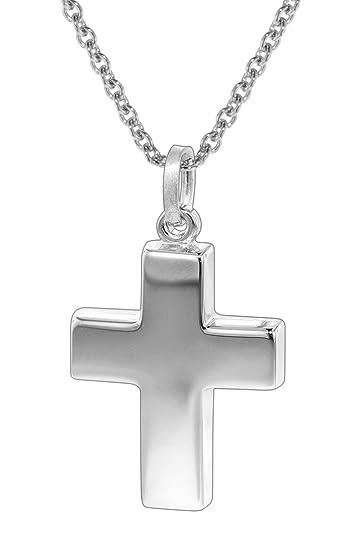 trendor Silberkette mit Kreuz-Anhänger 35845  Amazon.de  Schmuck 8693b0d735