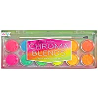 OOLY, Chroma Blends Neon Watercolor Paint - 13 PC Set