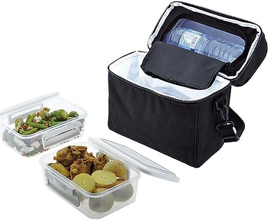 Jata Hogar Take Away Bolsa térmica Porta Alimentos, Negro, 0 cm ...