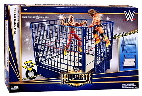 WWE Wrestling Superstar Rings Classic Steel Cage Playset by WWE