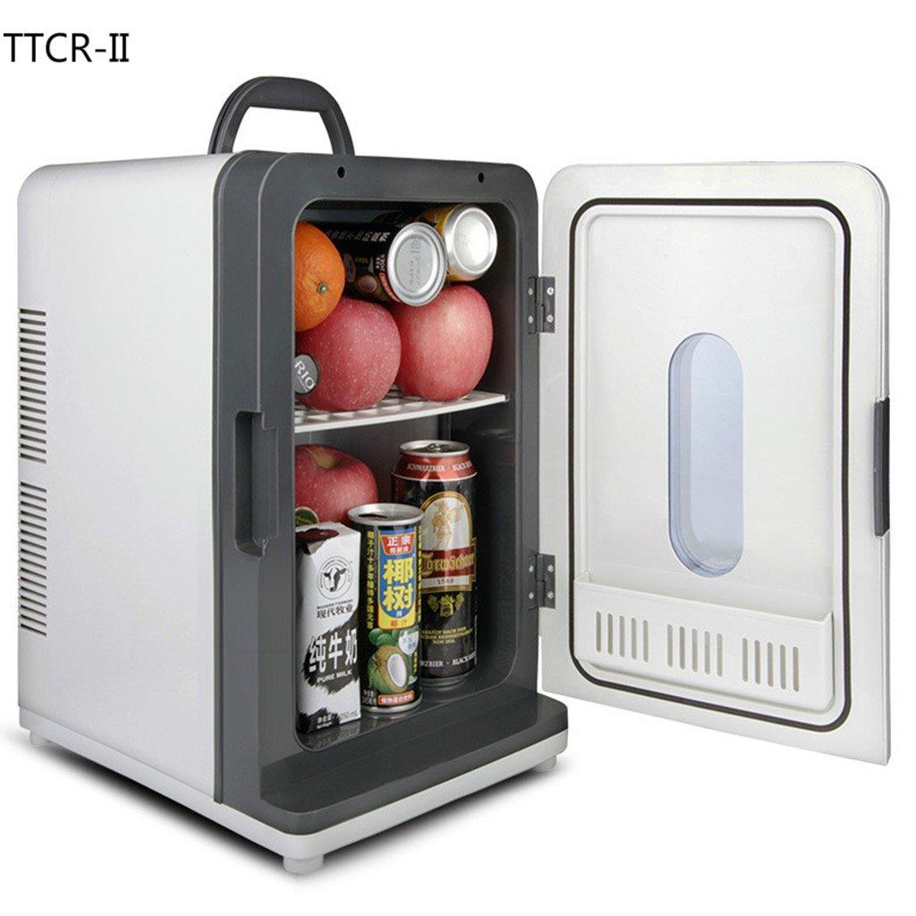 LLN Car Refrigerator 18L 12V 220V Mini Home Car Cooler Dormitory Refrigerator Freezer Car Fridge Auto Refrigerator
