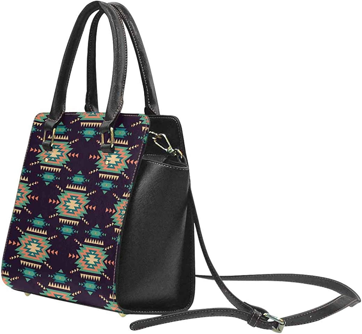 Tote Bag Patricks Day PU Leather Classic Shoulder Handbag INTERESTPRINT St