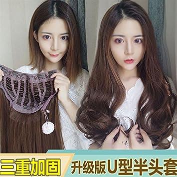 Amazon Leilei Wig Women Girls Female Long Hair Ponytail