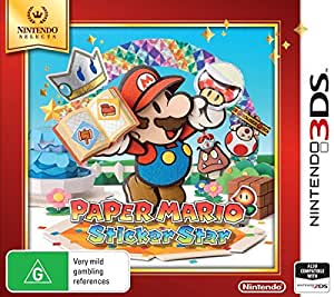 Paper Mario Sticker Star (Nintendo Selects)