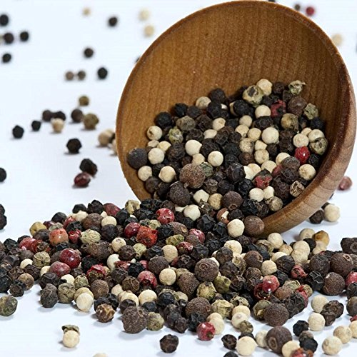 Peppercorns - 5 Mix, Dried - 1 resealable bag - 14 oz by Gourmet Imports