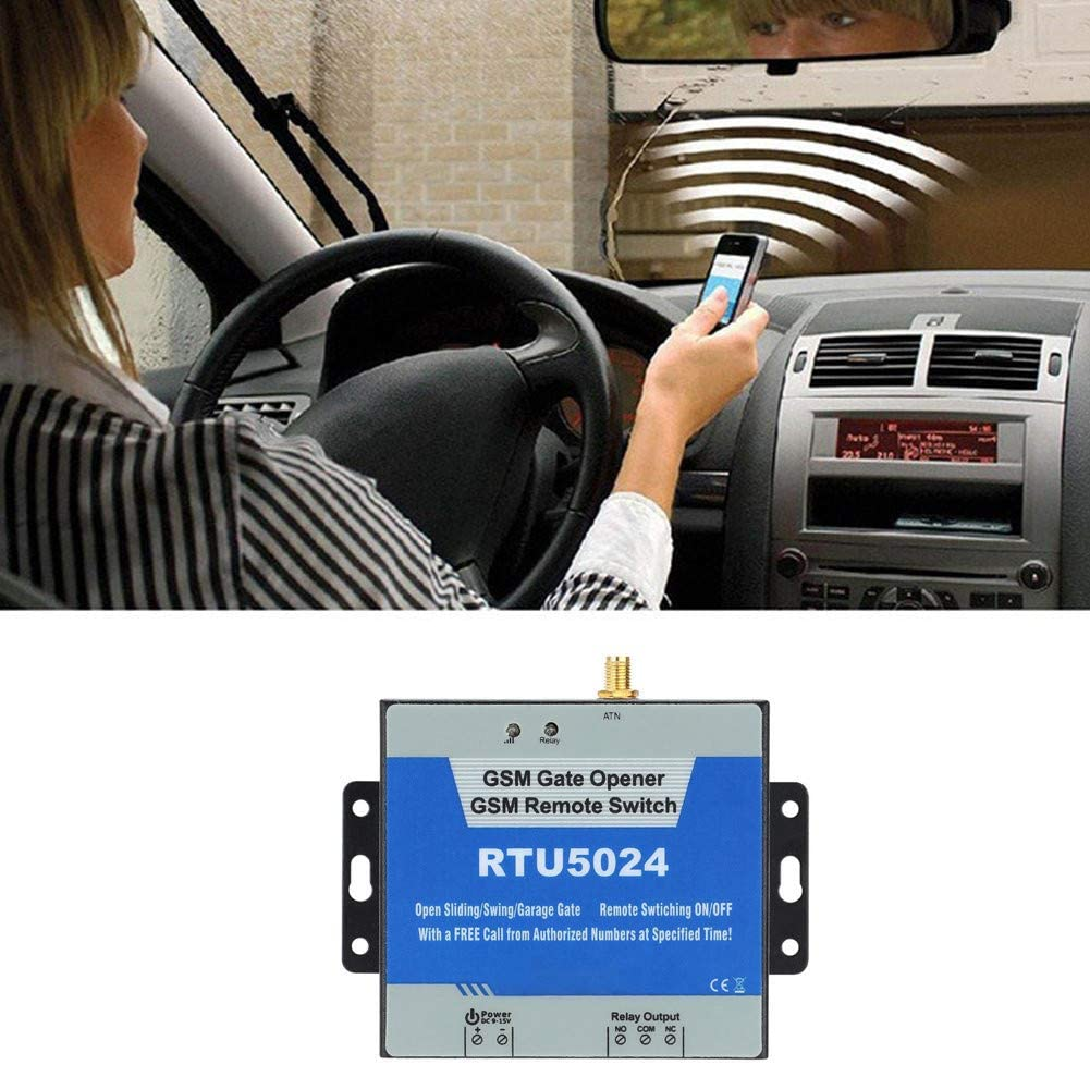 Thepass RTU5024 GSM Door Wireless Remote Control On//Off,Gate Opener Controller,Gate Opener Switch Free Call SMS