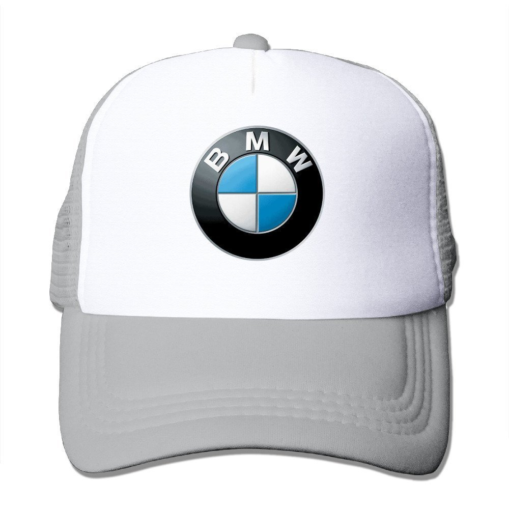 Feruch ABSOP BMW Genuine Roundel Adjustable Baseball Cap Ash