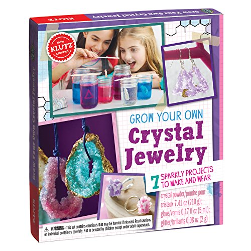 KLUTZ Grow Your Own Crystal Jewelry Science Kit JungleDealsBlog.com