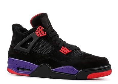 Air Jordan 4 Retro NRG Raptors AQ3816 065 Black Purple (8) 8d409ed30