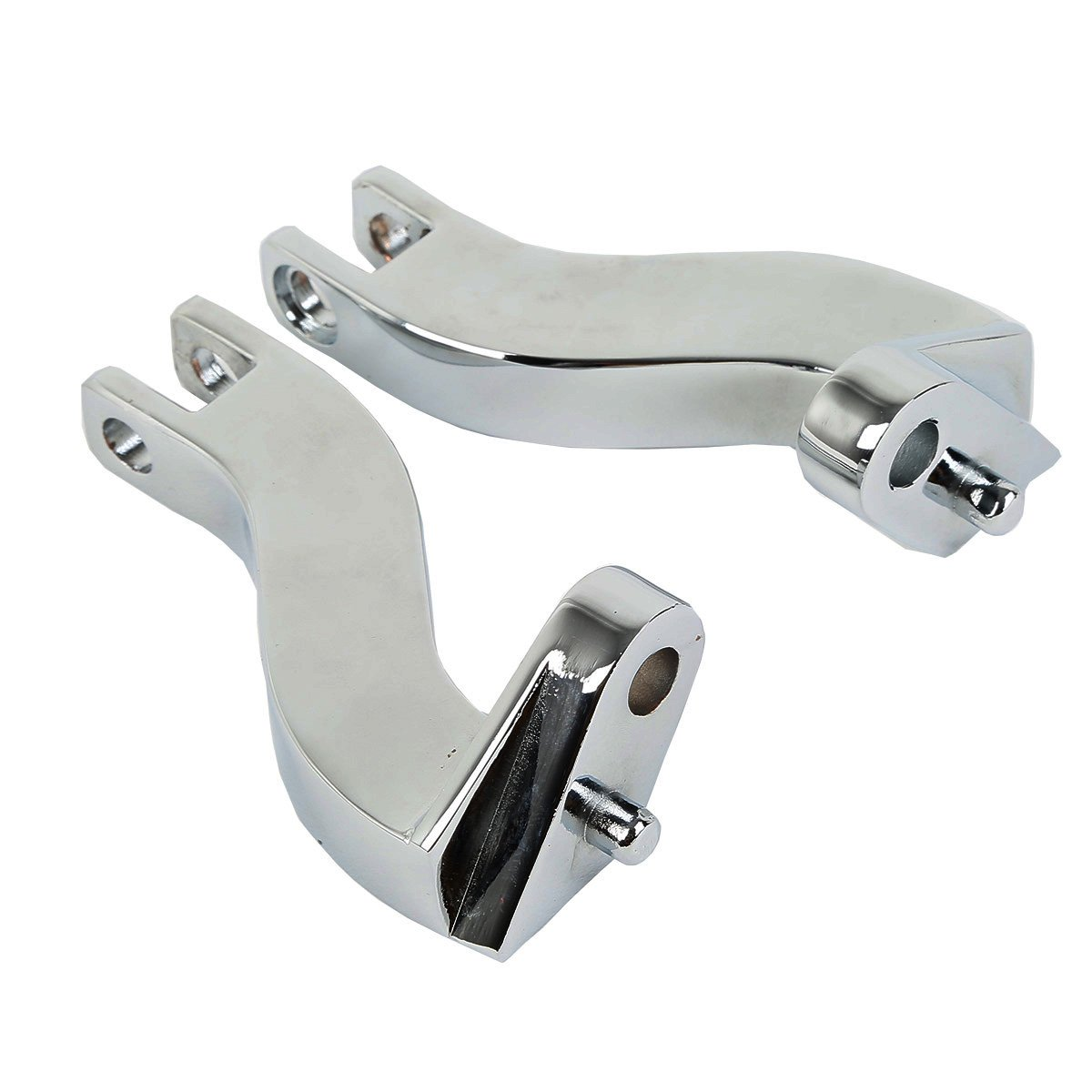 Replaces HD# 50198-97B XFMT 10mm Rear Foot Peg Mount Kits Compatible with Harley Davidson Touring FLHT FLHR FLTR FLHX 1993-2018