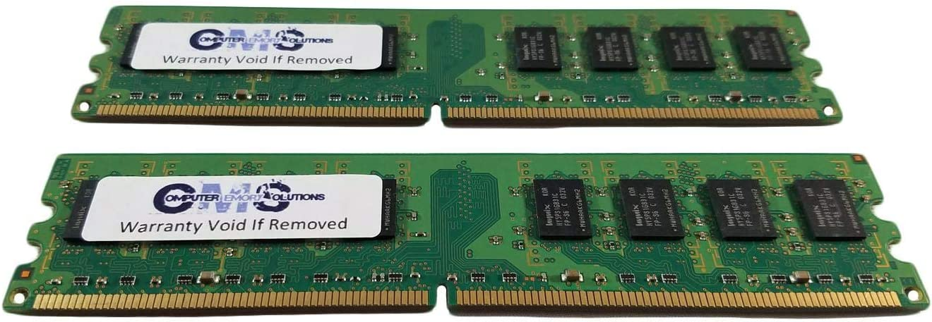 2GB Memory Ram Compatible with Dell Dimension E520 Series Desktop by CMS A100 2X1GB