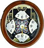 Seiko QXM478BRH Melody in Motion Clock