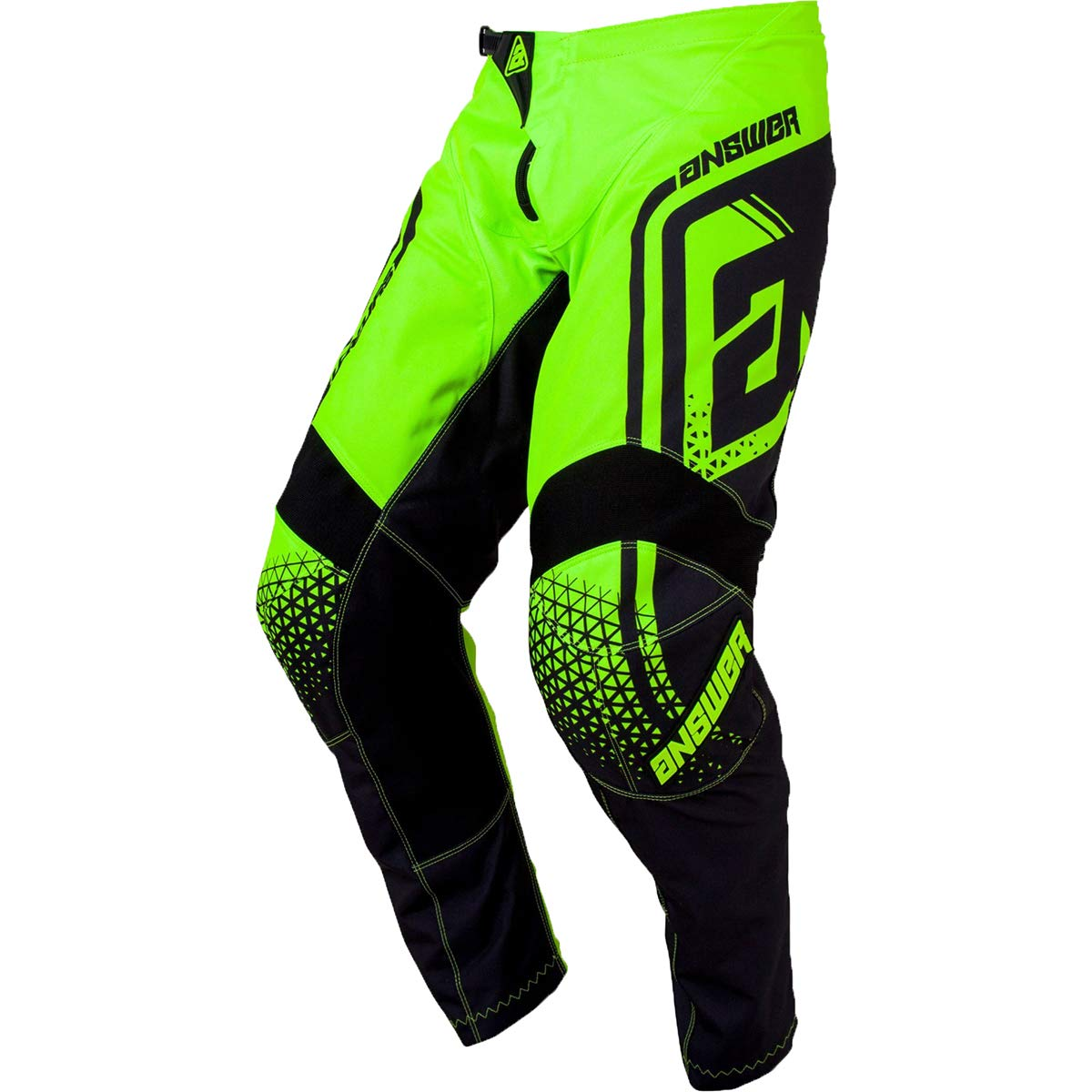 Answer Racing A19 Syncron Drift Youth Boys Off-Road Motorcycle Pants - Hyper Acid/Black / 16