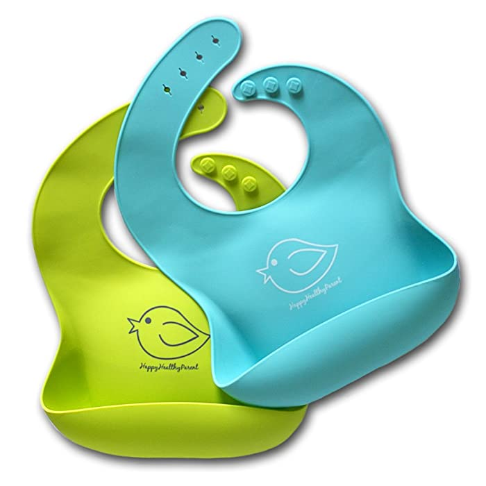 Top 9 Bib With Food Catcher Toddler