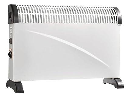 Flexible convector calefacción, 3 niveles de calor, termostato + WiFi enchufe, appsteuerung para