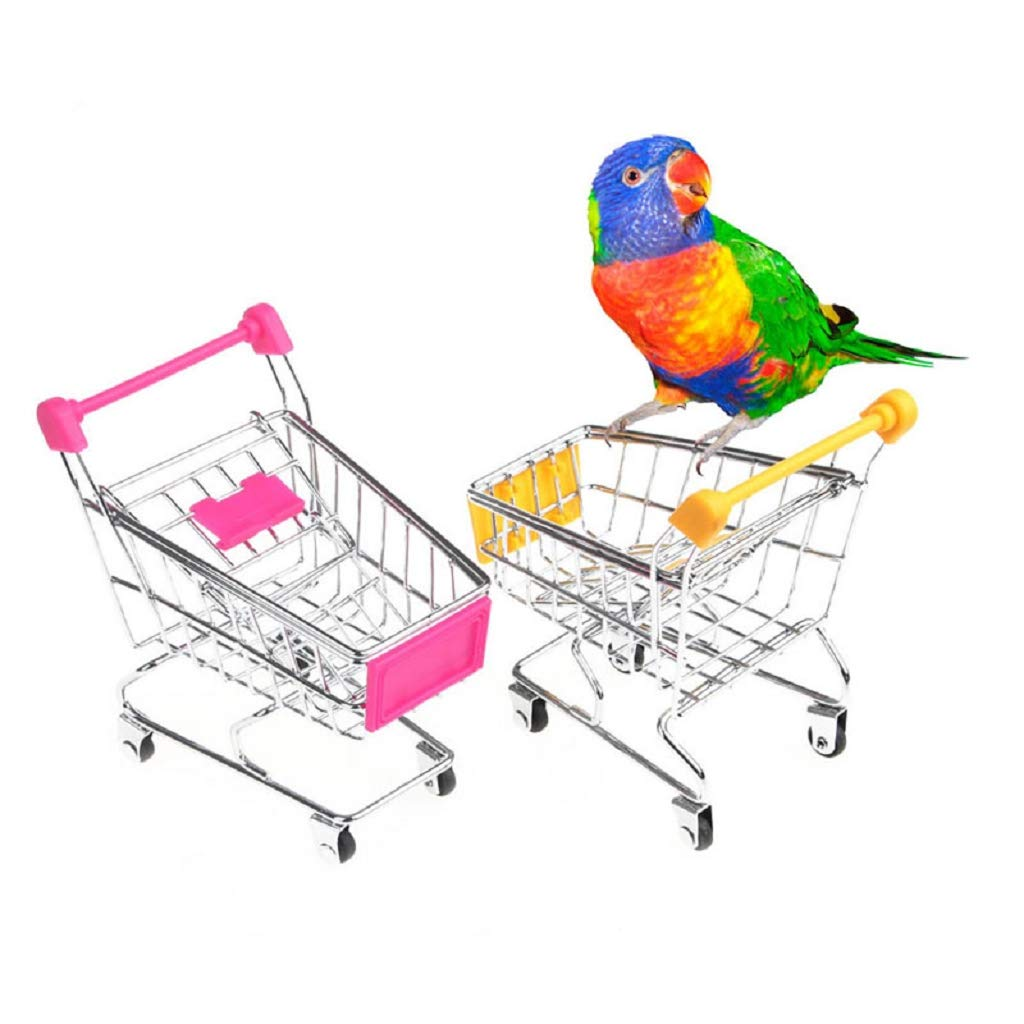 seaskyerスーパーミニスーパーマーケットHandcart、1個ミニショッピングカート買い物HandcartユーティリティカートモードストレージToy , Kids Toy   B07FQG82DC