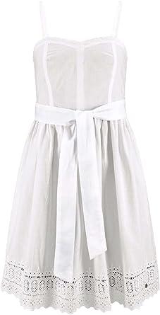 AJC damski sukienka z koronki biała: Odzież